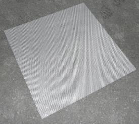 Bild von Abgeflachte Gestreckte Aluminium-Maschenblende 600x600mm Klein