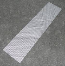 Bild von Abgeflachte Gestreckte Aluminium-Maschenblende 1200x300mm Klein