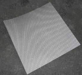 Bild von Abgeflachte Gestreckte Aluminium-Maschenblende 600x600mm Groß