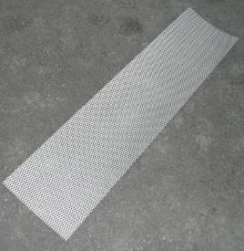 Bild von Abgeflachte Gestreckte Aluminium-Maschenblende 300x1200mm Groß