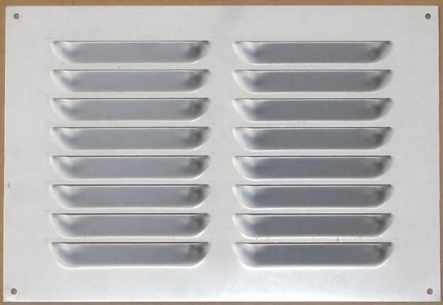 Picture of Aluminium Lüftungsgitter 240 x 163mm