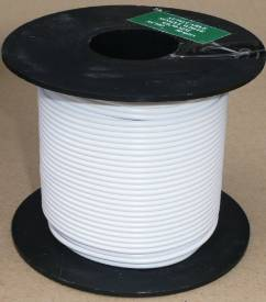 Picture of Large Cable Reel 5 Amp White 50 Metre