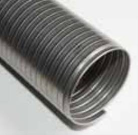 Picture of Stainless Steel Flexible Exhaust Pipe 38mm 1m