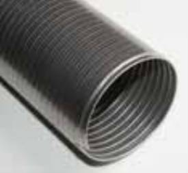 Picture of Stainless Steel Flexible Exhaust Pipe 63mm 1m