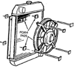 "Picture of 11"" Electric Cooling Fan"