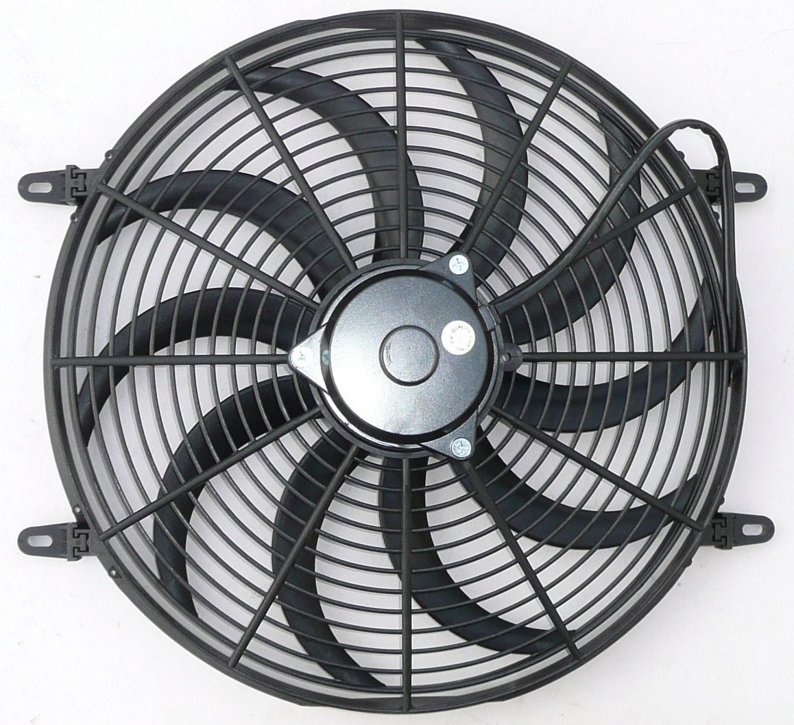 16 U0026quot  Electric Cooling Fan Curved Blade