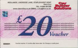 Picture of £20 Gift Voucher
