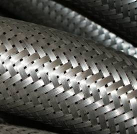 Picture of Stainless Steel Overbraid 50mm Nominal ID Per Metre