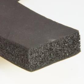 Picture of 25 x 10mm Self Adhesive Foam Rubber Strip Per Metre