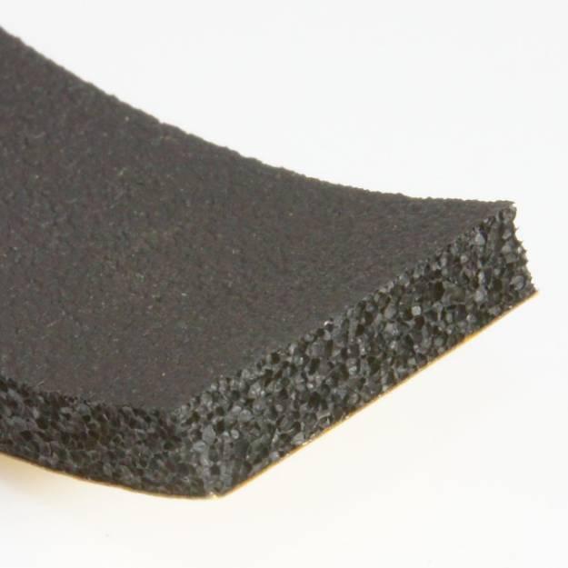 Picture of 25 x 6mm Self Adhesive Foam Rubber Strip Per Metre
