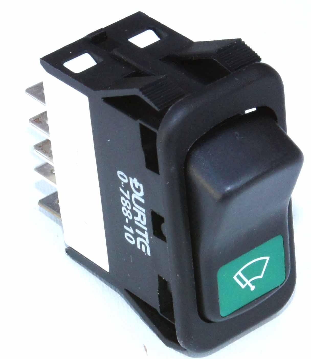 2 Speed Wiper Rocker Switch Black Car Builder Solutions