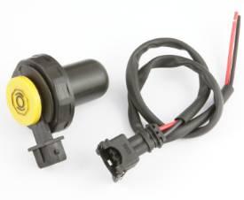 Bild von Bremsflüssigkeitsbehälter-Deckel mit 2-poligem Stecker und Kabelkontakten