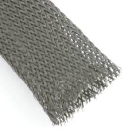 Picture of Black Nylon Cable Overbraid 32mm Per Metre