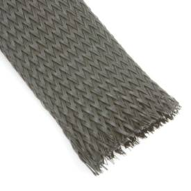 Picture of Black Nylon Cable Overbraid 38mm Per Metre