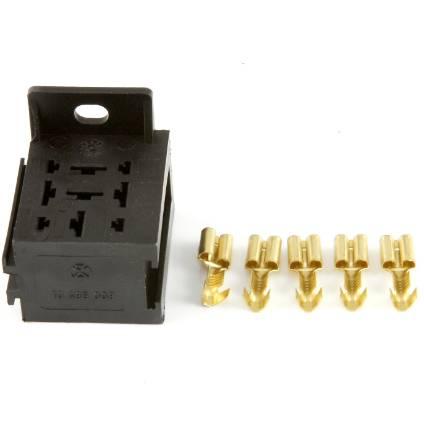black-single-relay-holder