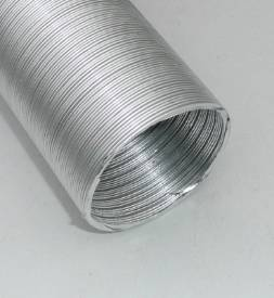 "Picture of 50mm ID (2"")  Aluminium Ducting ONE METRE"