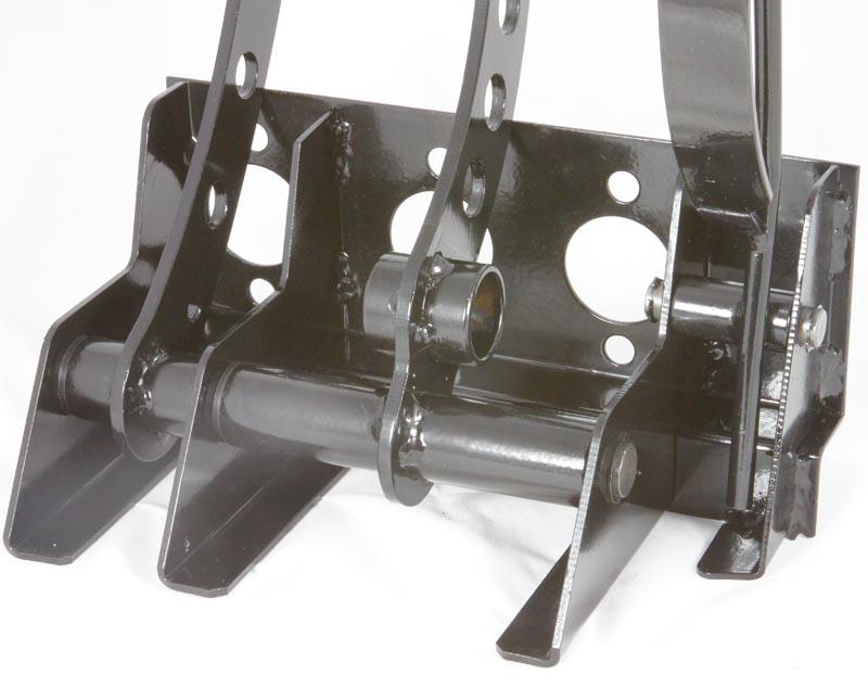 Pedal Box Black Car Builder Solutions