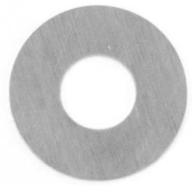 Picture of 40mm OD 17mm ID  Round Aluminium Escutcheon