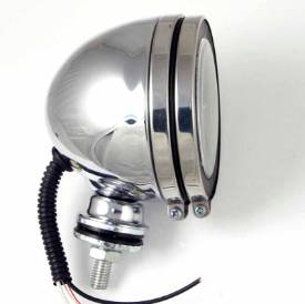 Picture of 100mm Chrome Spot Lamp With  LED Ring  each
