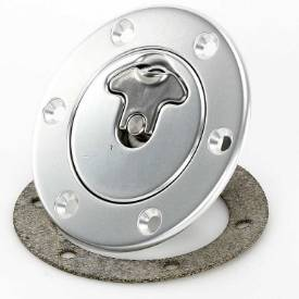 Picture of 94mm Locking Aero Fuel Cap Assembly Satin Tank Mount Flush Fit No Neck