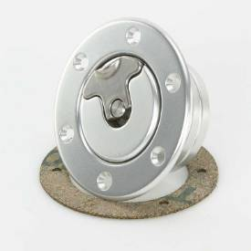 Picture of 79mm Non-Locking Aero Fuel Cap Assembly Satin