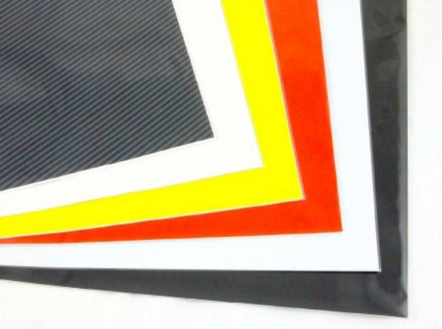 Picture of Kohlefaser-Effekt Selbstklebende Vinylfolie