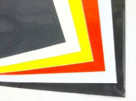 Picture of Yellow Self Adhesive Vinyl Sheet 330mm X 450mm