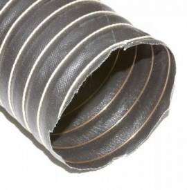 """Picture of 76mm (3"""") Black Silicone Duct Hose Per Metre"""