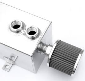 Bild von Tig-geschweißter Aluminium-Ölauffangbehälter Mit Filter