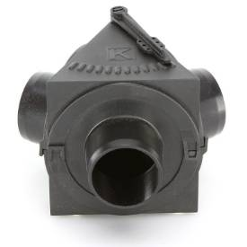 Picture of Y Splitter Vent With Butterfly 3 x 39mm Outlets