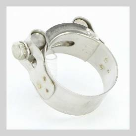 Picture of Stainless Steel Exhaust Clamp 40 - 43 mm