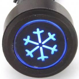 Picture of Black Billet Aluminium Aircon Switch