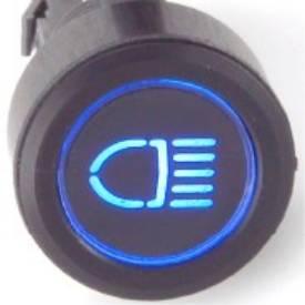 Picture of Black Billet Aluminium Main Beam Switch