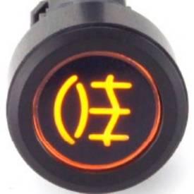 Picture of Black Billet Aluminium Rear Fog Switch