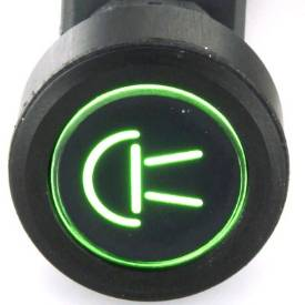 Picture of Black Billet Aluminium Side Lights Switch