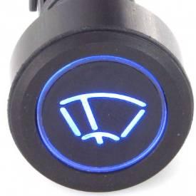 Picture of Black Billet Aluminium Wiper Switch
