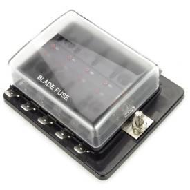 Bild von LED-Anzeige 10-Weg Flachsicherungskasten