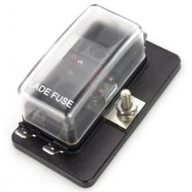 Bild von LED-Anzeige 4-Weg Flachsicherungskasten