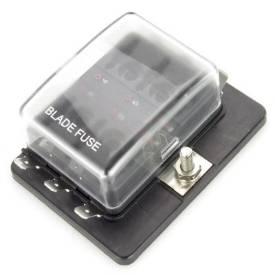 Bild von LED-Anzeige 6-Weg Flachsicherungskasten