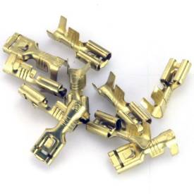 Picture of 4.8mm Female Spade Terminals Pack of 10