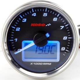 Picture of 61mm Black Electronic Analogue Tachometer