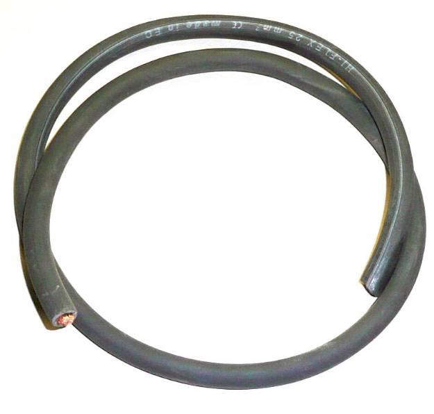 Picture of 110 Ampere 16mm² Kleine Batteriekabel Schwarz