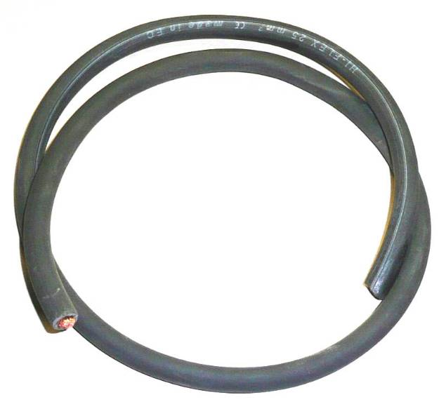 Picture of 170 amp 25mm² Battery Cable Black Per Metre