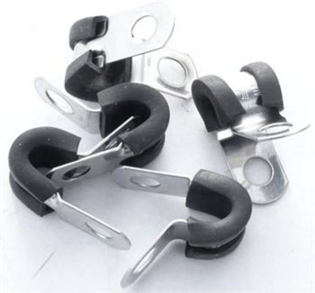 Picture of Edelstahl P-Clips 5mm