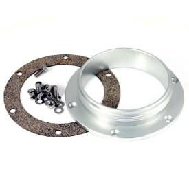 """Picture of 3 1/2"""" 11TPI Anodised Aluminium Mounting Flange"""