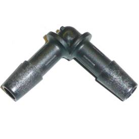 Picture of Black Nylon Elbow 8mm
