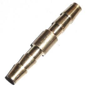 Bild von Gerader Messing-Schlauchverbinder  4mm