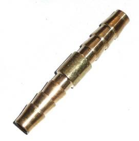Bild von Gerader Messing-Schlauchverbinder  6mm
