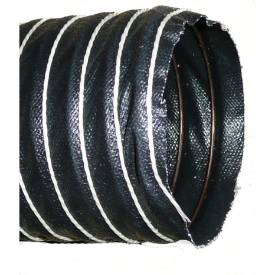"""Picture of 38mm  (1 1/2"""") Black Silicone Duct Hose Per Metre"""