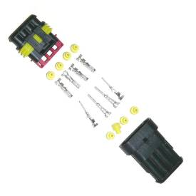 Picture of Waterproof Multipin Wiring Connector 4 Way